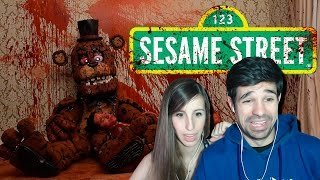 Five Nights at Sesame Street FNAF Trailer | Video reacción