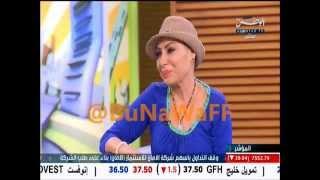 بكاء زهره الخرجي في صباح الوطن بعد حلق شعرها