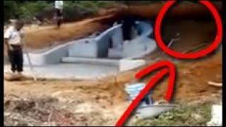 Penampakan di Kuburan Cina Terbang Memasuki Makam