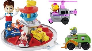 Learning Colors with Paw Patrol Vehicle Match Launch Roll Lookout Tower   Fizzy Fun Toys