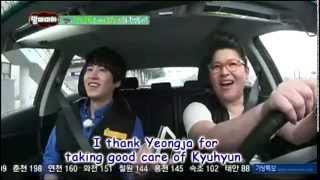 [ENGSUB] 130714 Mamma Mia cut - Kyuhyun's call to his mom
