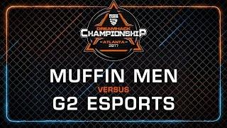 Muffin men vs G2 Esports - Rocket League Championship - DreamHack Atlanta 2017