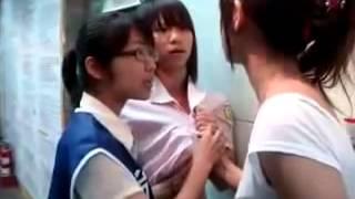 귀여운 대만 여자가 큰 싸움!