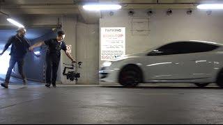 Camera Man Does Crazy Stunt