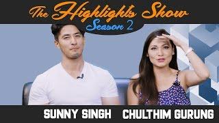 Actors SUNNY SINGH & CHULTHIM GURUNG @ THE HIGHLIGHTS SHOW | Season 2 | Ep. 20 | DIARRY