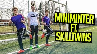 INSANE FOOTBALL TRICKS FT. SKILLTWINS