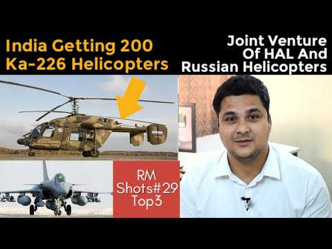Top3| India Getting Ka-226 Helicopters,ISRO Railway working together, Rafale Touch India in 2019