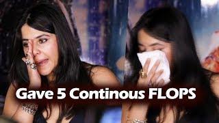 Ekta Kapoor GETS Emotional At Half Girlfriend SUCCESS Party