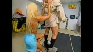 Torrie Wilson with Mr Mack Daddy