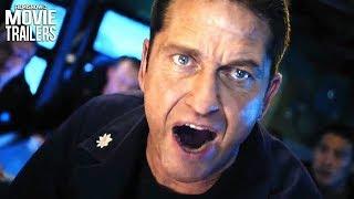 HUNTER KILLER Final Trailer NEW (2018) - Gerard Butler Action Thriller
