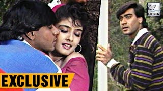 Bollywood Flashback: Ajay Devgn's Dilwale On Location   Lehren Diaries
