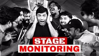 Stage monitoring - Sajjad Ali