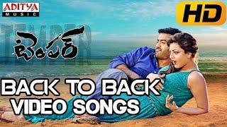 Temper Video Songs || Back to Back || Jr.Ntr,Kajal Agarwal