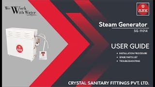 ARK - Steam Generator - User Guide