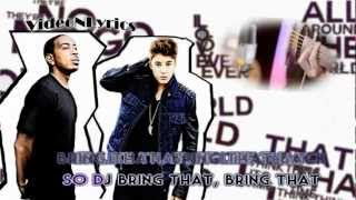 Justin Bieber Feat. Ludacris - All Around The World [Karaoke/Instrumental] With Lyrics