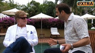 Robert Redford on His New Indie Film... and Almost Playing