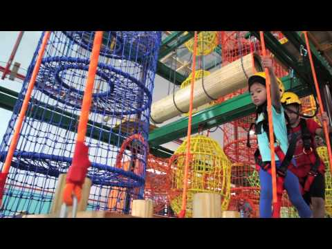 Asia's Largest Trampoline Extreme Park!