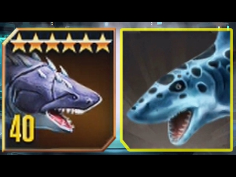 MEGALODON Vs MEGALODON - Jurassic World The Game Vs Jurassic Park Builder