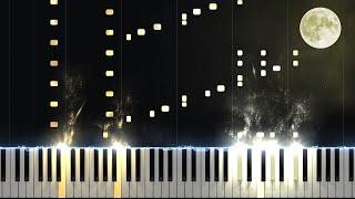 Moonlight Sonata 3rd Movement - Opus 27 No. 2 [Piano Tutorial] (Synthesia)