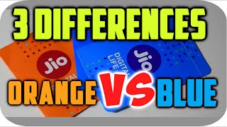 [HINDI] Difference between Orange and Blue JIO Sim, MUST WATCH🤘