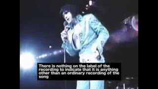 Elvis can't stop laughing