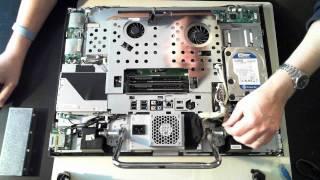 Разборка и увеличение памяти моноблока Acer Aspire Z3750 - YTPlay.ME - World No.1 Video Portal