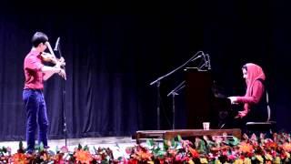 دونوازی پیانو و ویولن - در میان گلها (همایون خرم)1