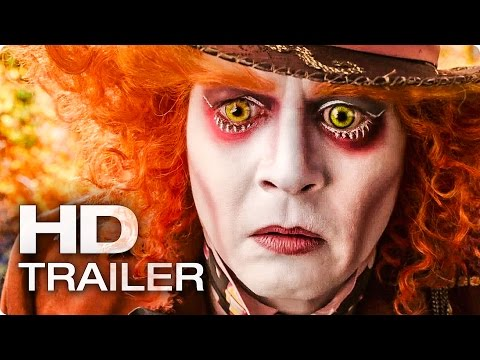 ALICE IN WONDERLAND 2 Through the Looking Glass Trailer 2016