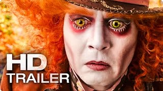 ALICE IN WONDERLAND 2: Through the Looking Glass Trailer (2016)