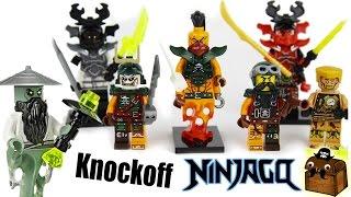 Ninjago Knockoff LEGO Minifigures 2017