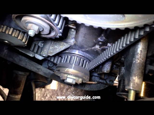 How To Change The Timing Belt And Water Pump In A Peugeot