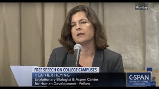 Heather Heying: Free Speech on Campus