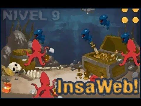 InsaWeb Juego basado en Insaniquarium Deluxe Nivel 9