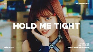 twice hold me tight line distribution
