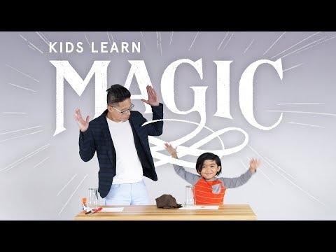 Kids Learn Magic Disappearing Coin Trick HiHo Kids
