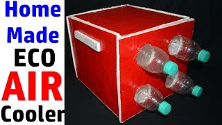How to make an Air Cooler at HOME using Plastic Bottles