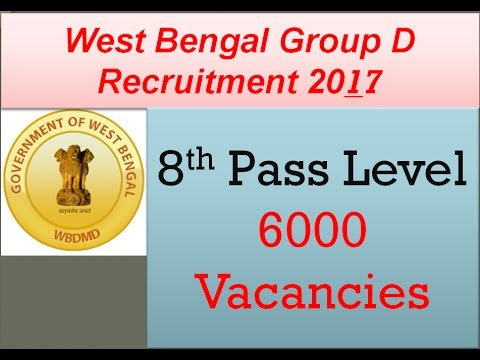 West Bengal group D 2017(wbgdrb) recruitment details and applying process(Hindi/Bengali) version