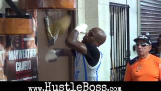 Floyd Mayweather in training for Saul 'Canelo' Alvarez clash [Exclusive footage]