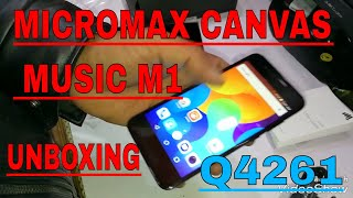 Micromax Canvas Music m1 (Q4261) Full Unboxing And Reviews Best Camera Smart 4g Phone New lounched
