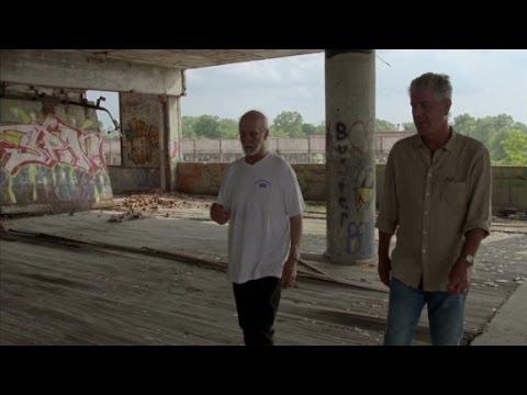 Anthony Bourdain explores Detroit's Packard Plant