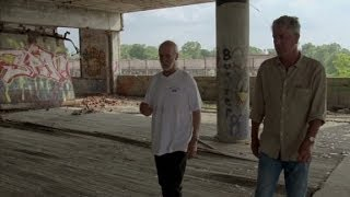 Anthony Bourdain explores Detroit's Packard Plant