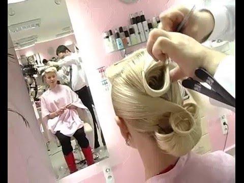 Прическа для � евесты. Hairstyle for the bride. Igor Kuchnyev.