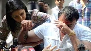 Sanjay Dutt CRYING After Finally Coming Out Of Jail