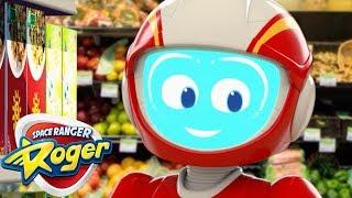 Cartoons for Children   1 HOUR Space Ranger Roger   Cartoon Compilation   Cartoons for Kids