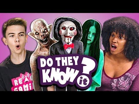 Xxx Mp4 Do Teens Know 2000s Horror Films React Do They Know It 3gp Sex