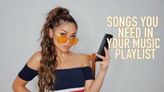 GET LITTY WITH ME: My Music Playlist | Koleen Diaz
