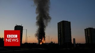 London Fire: Police: 58 people were in Grenfell Tower that are missing - BBC News