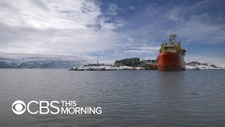 Researchers examining seafloor in Antarctica expedition