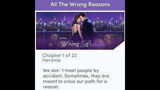 Chapters Interactive Stories - All The Wrong Reasons Chapter 1