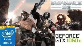 Defiance 2050: GTX 1050 TI 4GB i5 4460